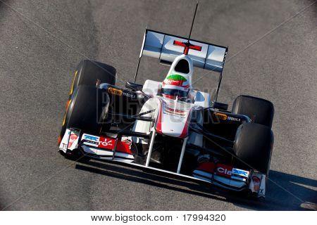 Team Sauber F1, Sergio Perez, 2011