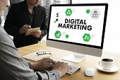 Digital Marketing New Startup Project ,  Interactive Digital Marketing Channels , Business Innovatio poster
