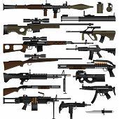 Постер, плакат: Оружие