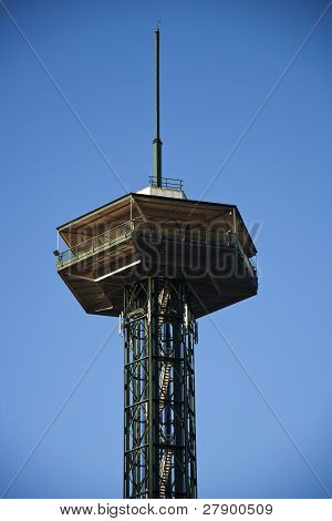 Observation Tower In Gatlinburg