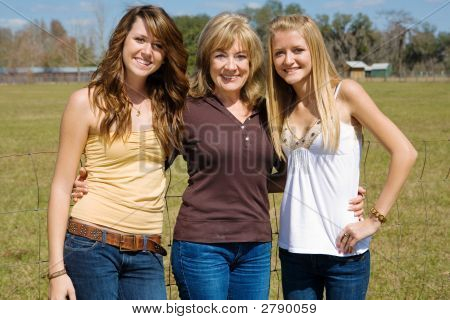 Beautiful Farm Girls