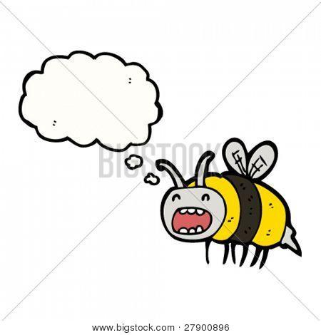 buzzing bee cartoon