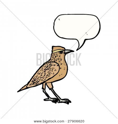 tweeting bird illustration