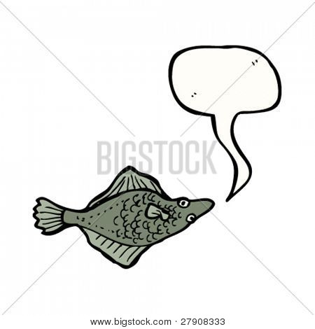 flatfish illustration