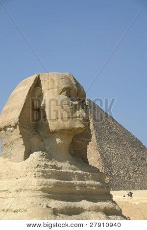 Great Sphinx at  Giza Egypt