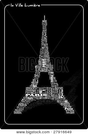Abstract Tour Eiffel