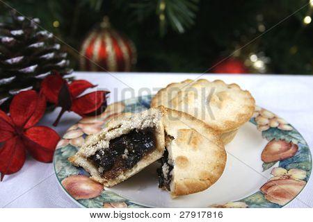 Empanadas de carne picada de Navidad