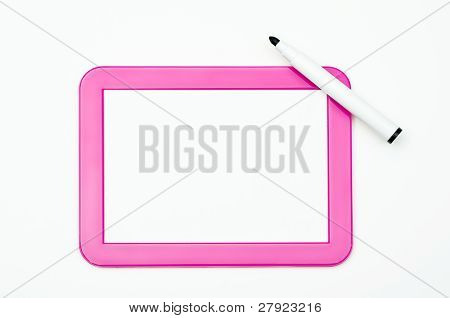 Pink Writing Tablet