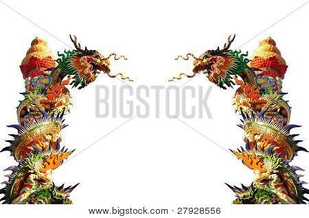 Twin Chinese Dragon