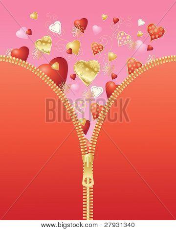 Valentine Zipper