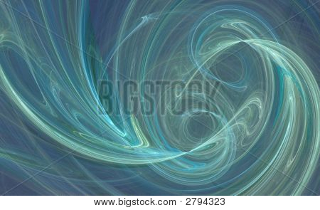 Blue Swirl Design