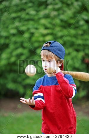 Little Baseball Player