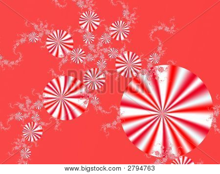 Peppermint Candy Background