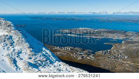 Greenlands capital Nuuk largest city