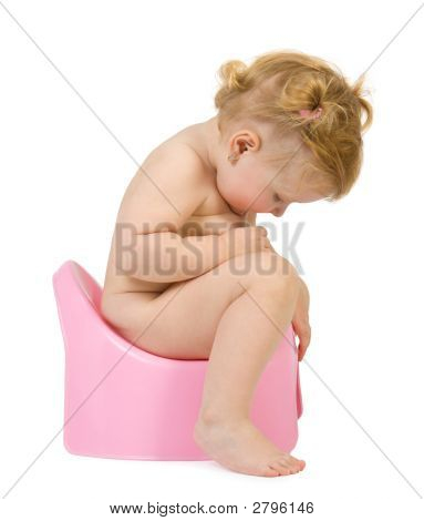 Pretty Baby Look In Pink Potty
