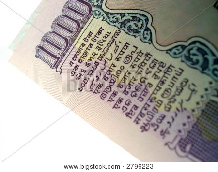 Rs 1000-Indian Bank Note