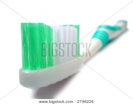 Close Up Of Tooth Brush