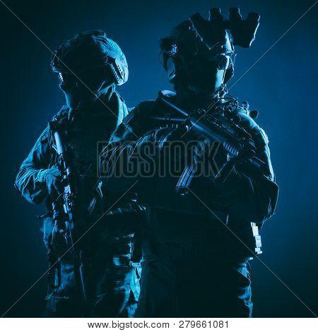 Modern Commando Fighters Low Key