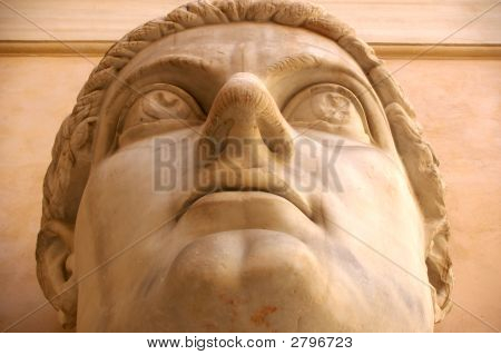 Statue Of Constantine Rome Italy