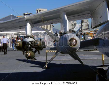Armament On A F4 Phantom