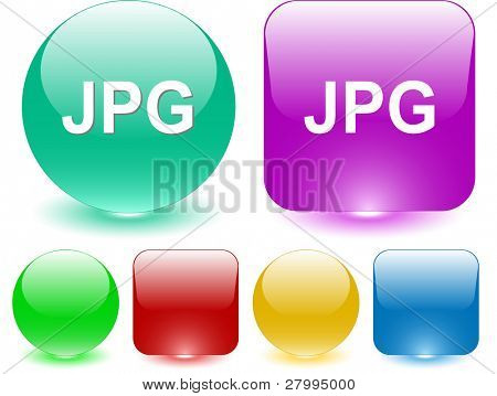 Jpg. Vector interface element.