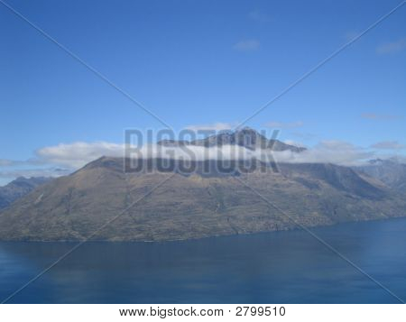 Mountain With Cloud Top