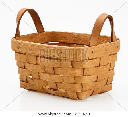 One Small Wicker Basket