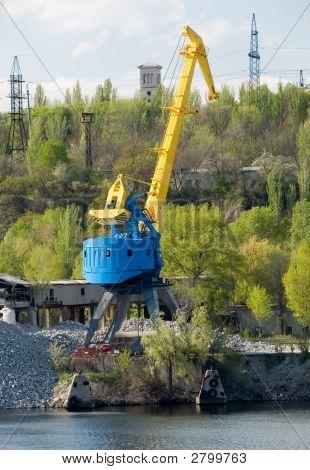River Port Crane