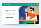 Concept Digital And Online Libraries. Mobile Library Of Books In The Smartphone Phone App Bookstore. poster