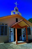 Small Country Church In Lajas, Puerto Rico