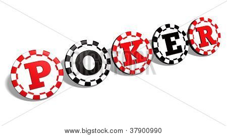 Poker Chips Sign