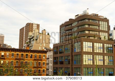Modern Chelsea Buildings, New York