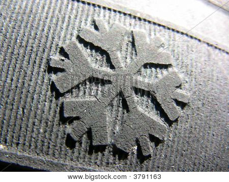 Snow Flake Rubber