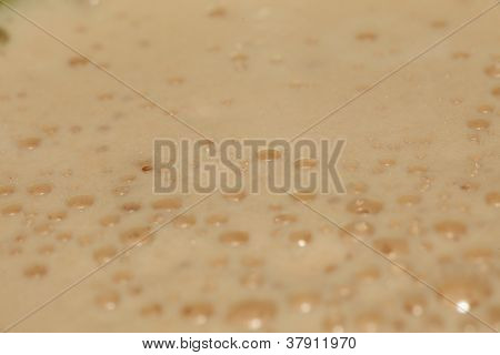 Frothy Coffee Background