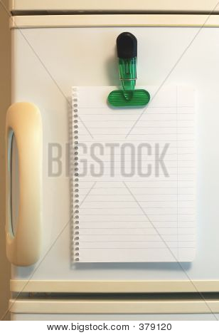 Blank Shopping List