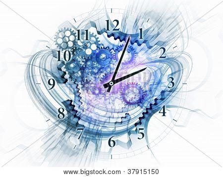 Exploded Clock