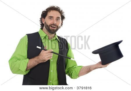 Portrait Of A Magician
