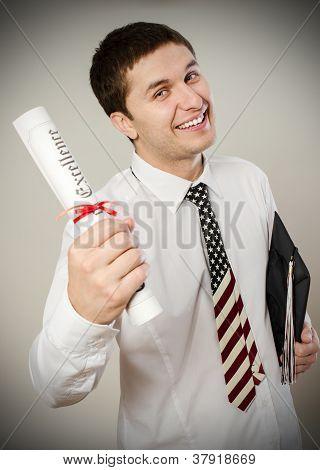 Graduated man