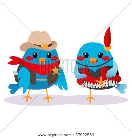 Aves do oeste selvagem