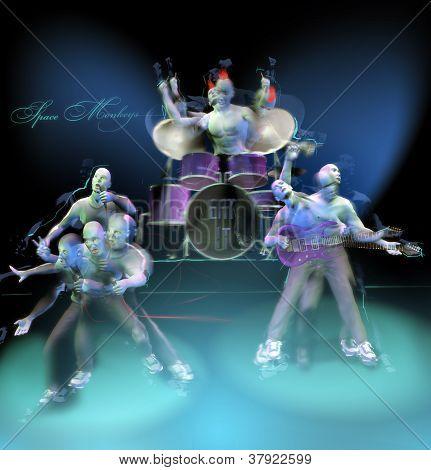 Banda de rock & rolo