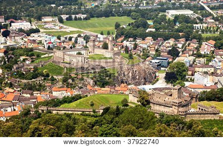 Castles, Bellinzona, Switzerland