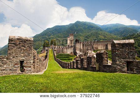 Fortress In Bellinzona