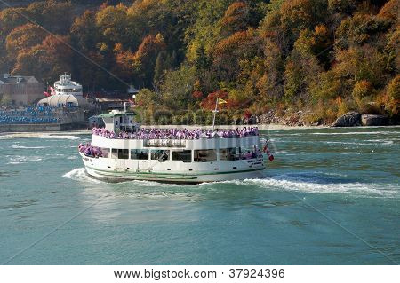 NIAGARA FALLS, NY USA OCTOBER 21, 2012