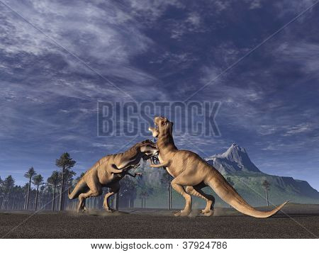 T.rex Fight