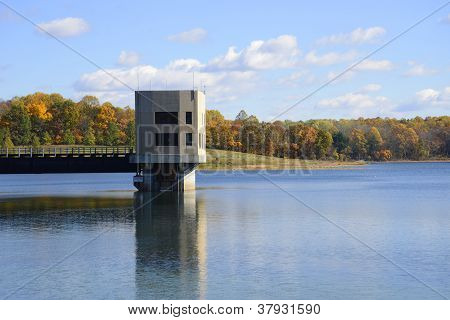 Merrill Creek Reservoir Inlet Outlet Tower