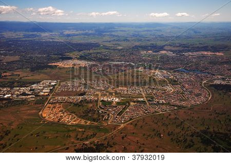 canberra city birdview