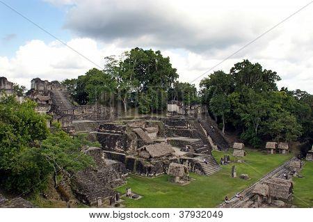 alten Maya-Ruinen in Tikal-guatemala