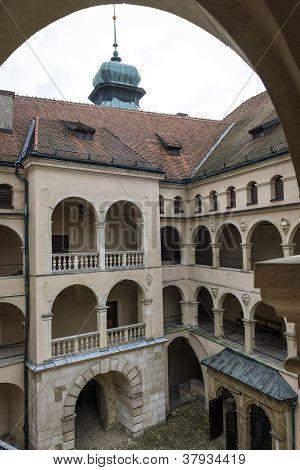 Pieskowa Skala Palace - Poland, Europe.