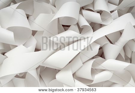 Roll Of Paper Accounting Office Business