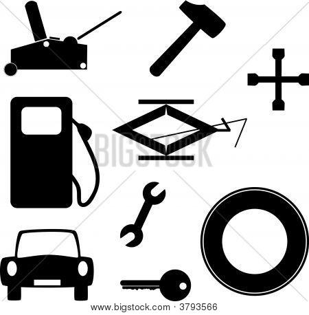 Herramientas de coche